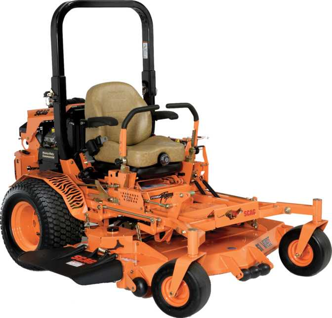 Scag Turf Tiger Propane Powered 61
