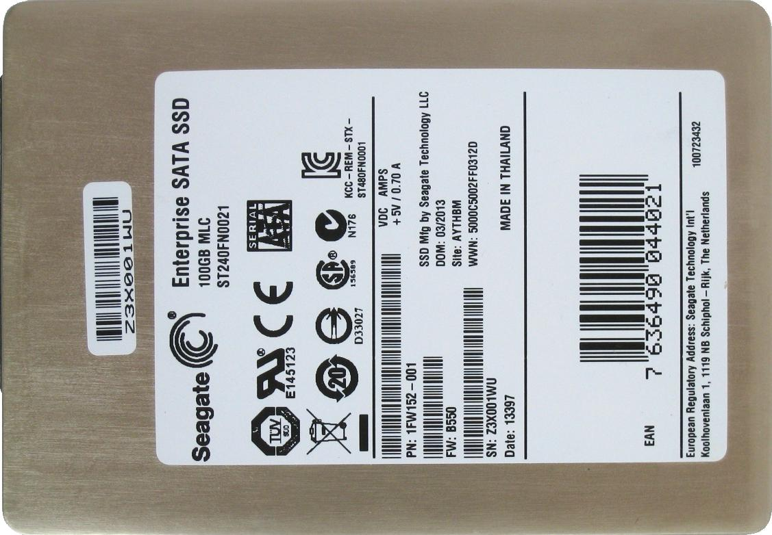 Seagate 600 Pro SSD 100GB