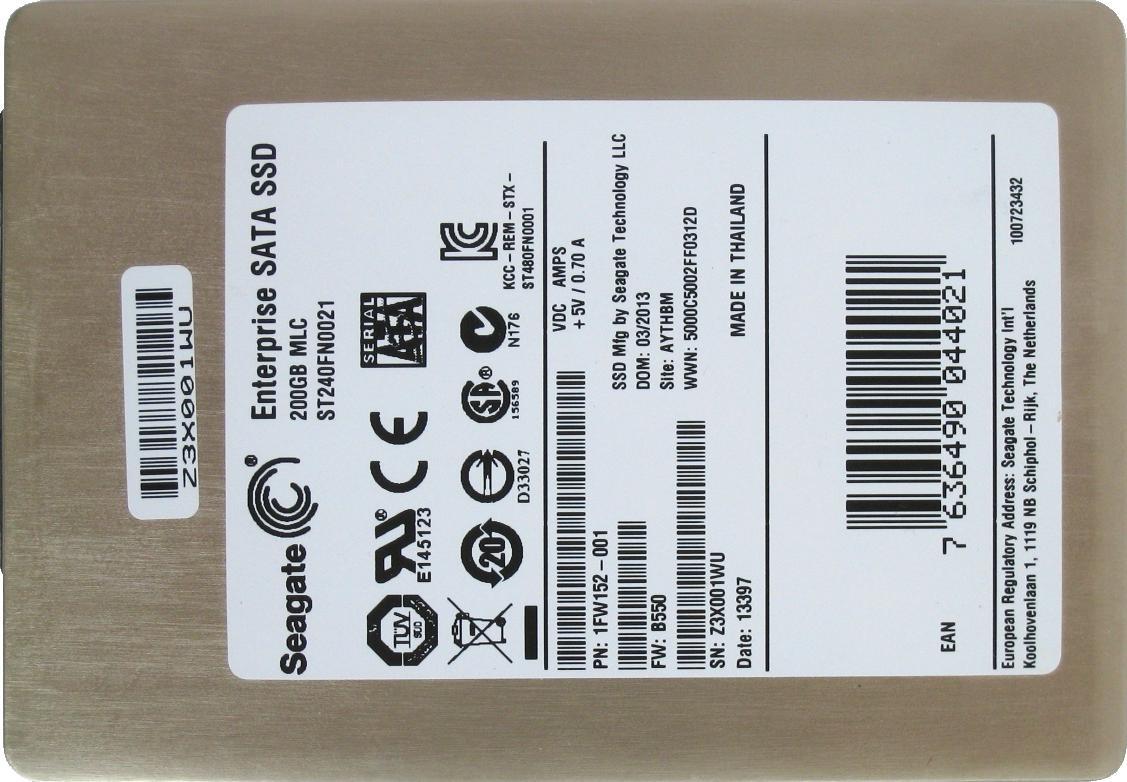 Seagate 600 Pro SSD 200GB