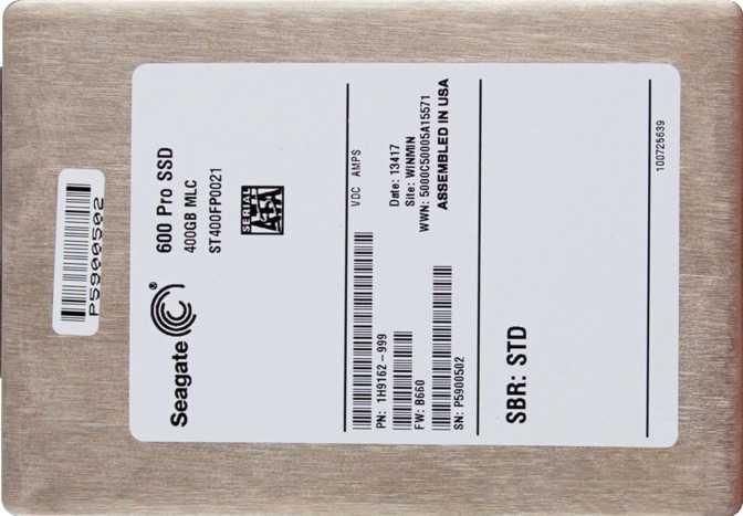 Seagate 600 Pro SSD 400GB