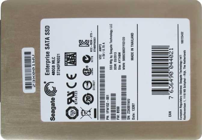 Seagate 600 Pro SSD 480GB