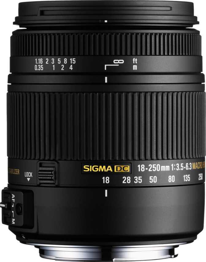 Sigma 18-250mm F3.5-6.3 DC OS Macro HSM
