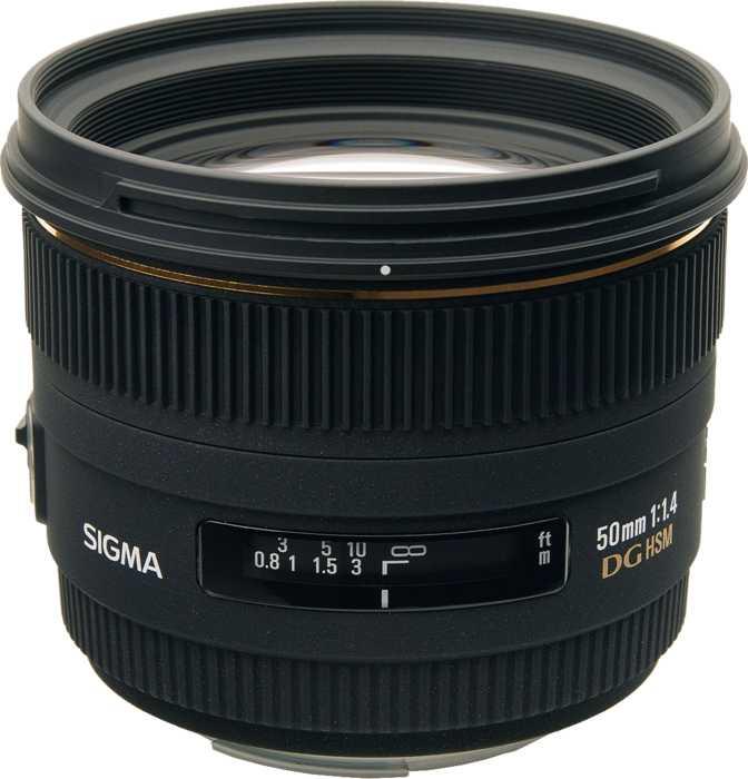 Sigma 50mm F1.4 EX DG HSM