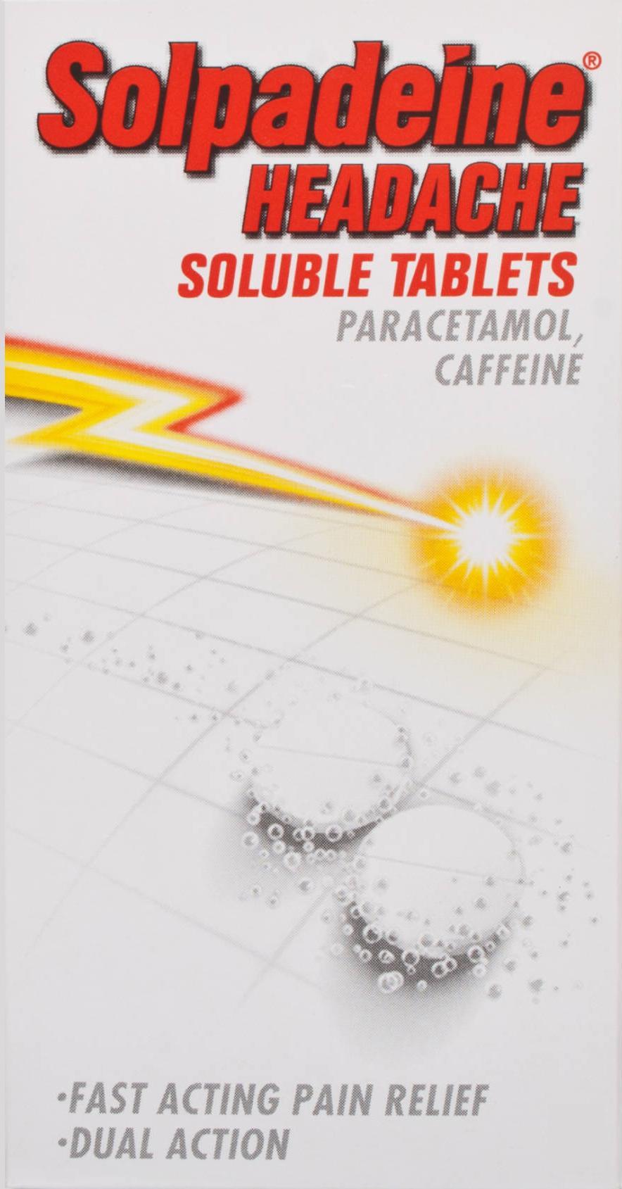 Solpadeine Headache Soluble Tablets