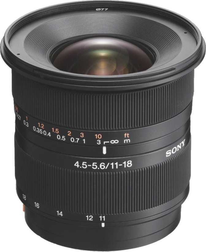 Sony DT 11-18mm F/4.5-5.6