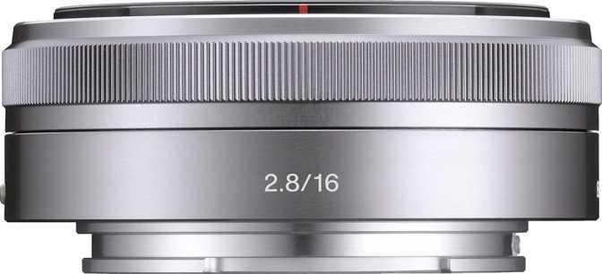 Sony E 16mm F2.8