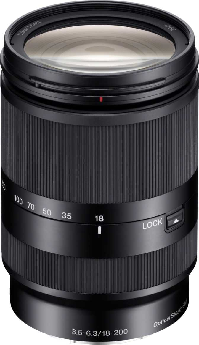 Sony E 18-200mm F3.5-5.6 OSS LE