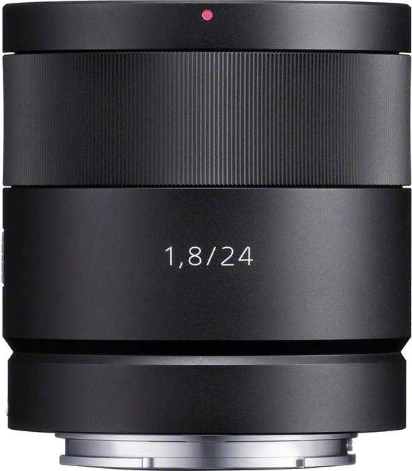 Sony E 24mm F1.8 ZA Carl Zeiss Sonnar T*