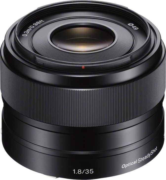 Sony E 35 mm F1.8 OSS