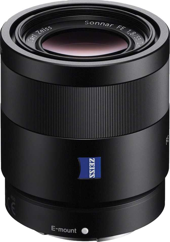 Sony FE 55mm F1.8 ZA Carl Zeiss Sonnar T*