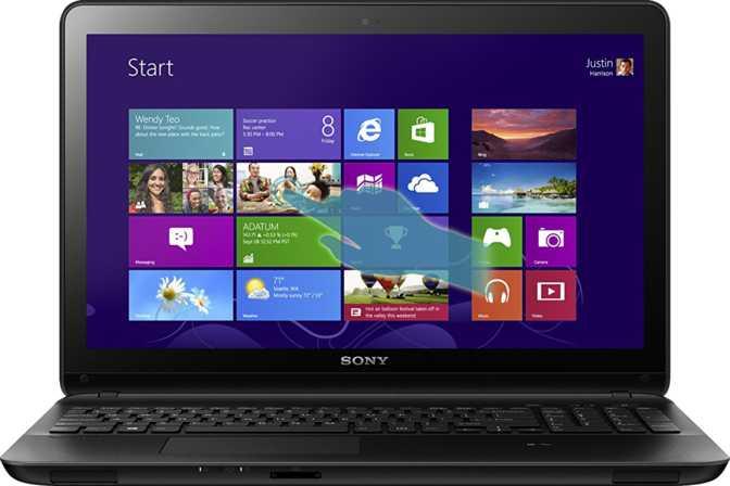 "Sony Vaio Fit 15 Touch 15.5"" Intel Core i7-3537U 2GHz / 4GB / 750GB"