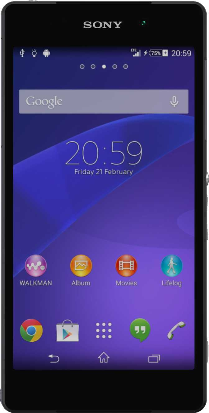 Sony Xperia Z2 Black