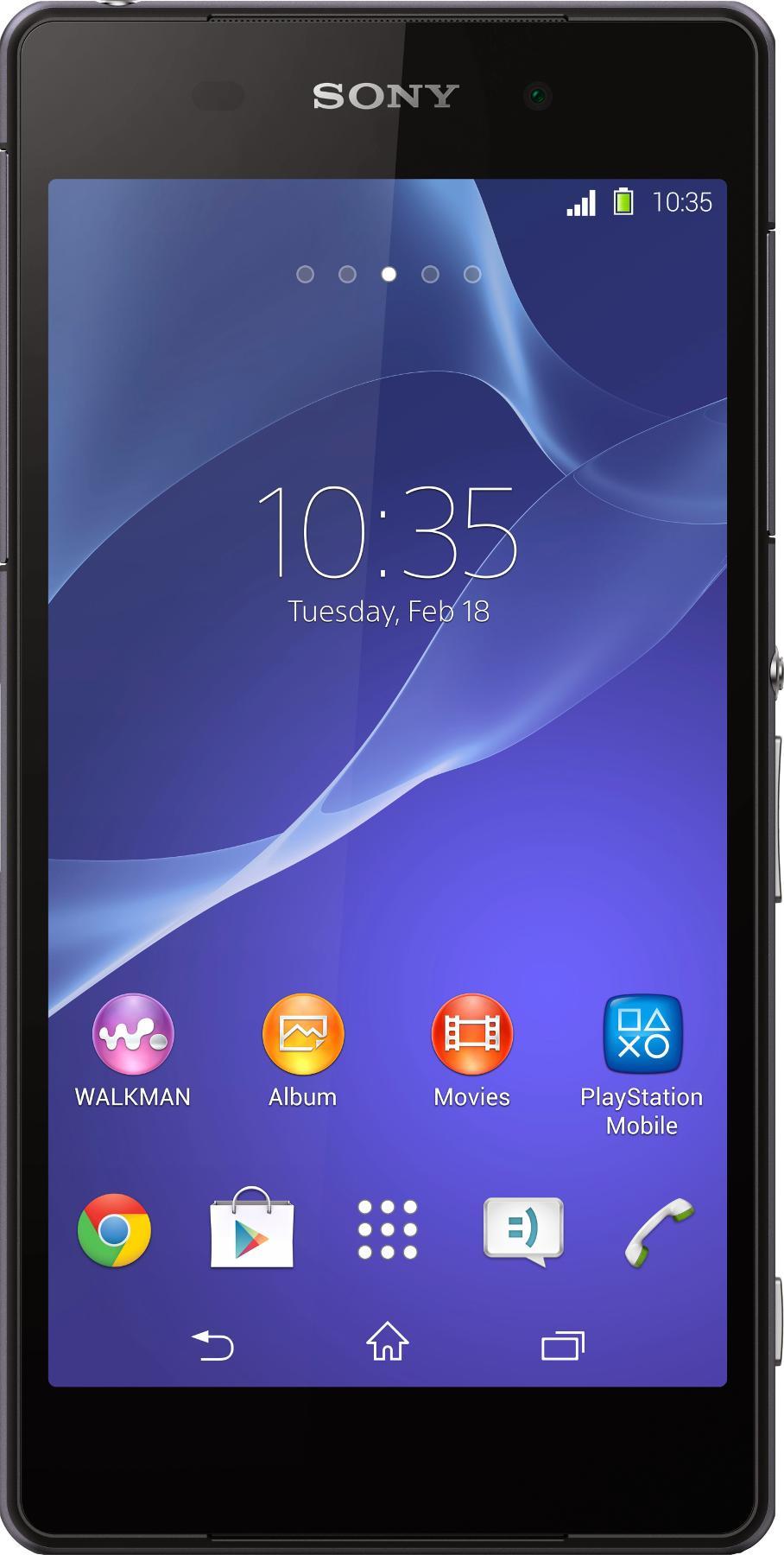Sony Xperia Z2 Sort