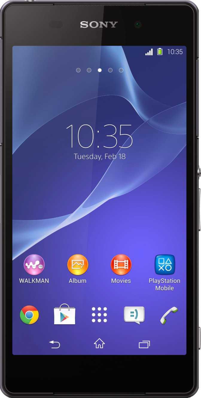 Sony Xperia Z2 Zwart
