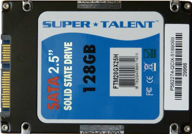 Super Talent Ultra Drive MX3 128GB