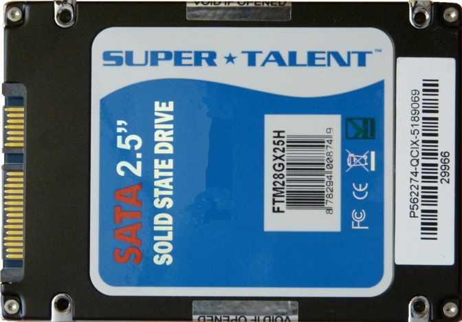 Super Talent Ultra Drive MX3 60GB