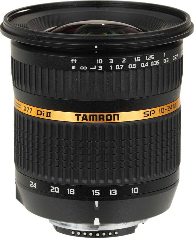 Tamron SP 10-24mm F/3.5-4.5 Di II