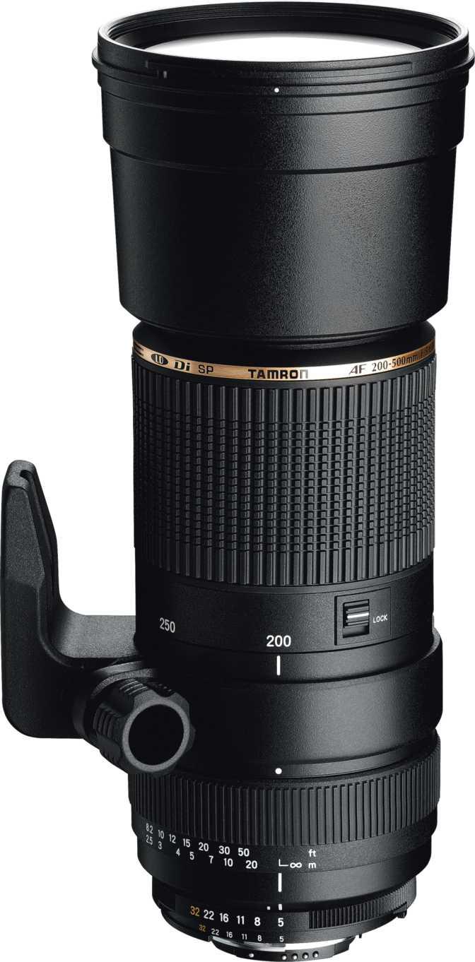 Tamron SP 200-500mm F/5-6.3 Di