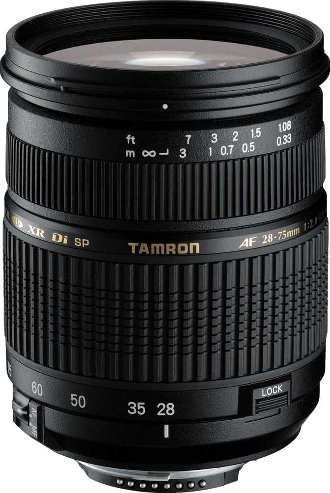 Tamron SP 28-75mm F/2.8 XR Di