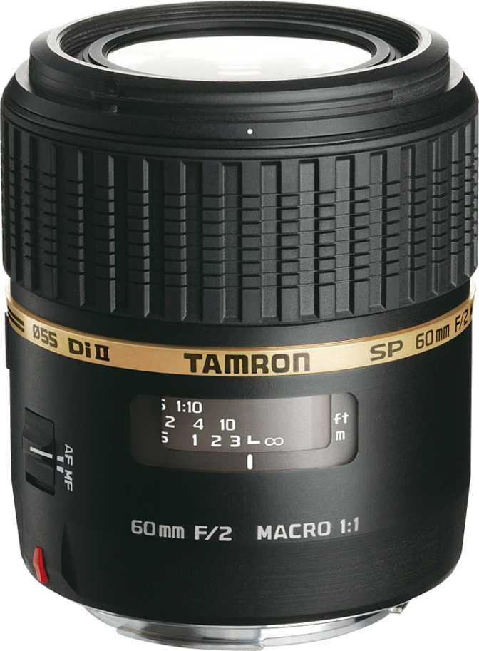Tamron SP 60mm F/2.0 Di II 1:1 Macro