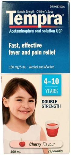 Tempra Double Strength Children's Syrup