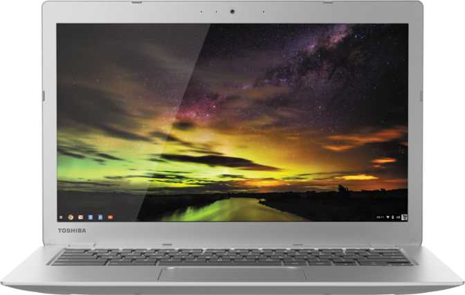 "Toshiba Chromebook CB35 13.3"" Intel Celeron N2840 2.16GHz / 2GB / 16GB"