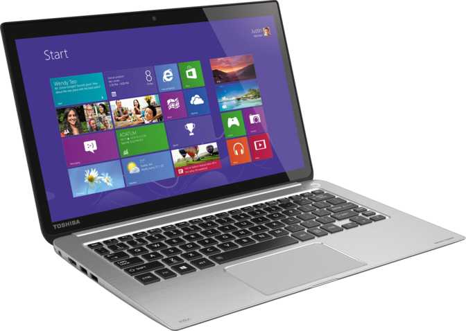 "Toshiba Kirabook 13-i5s-Touch 13.3"" Intel Core i5-4200U 1.6GHz / 8GB / 256GB"