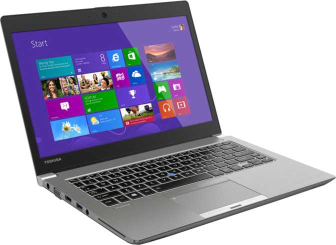 "Toshiba Portege Z30 13.3"" Intel Core i5-4210U 1.7GHz / 8GB / 128GB"