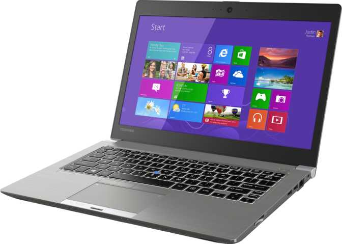 "Toshiba Portege Z30 13.3"" Intel Core i7 6500U 2.5GHz / 8GB / 256GB"