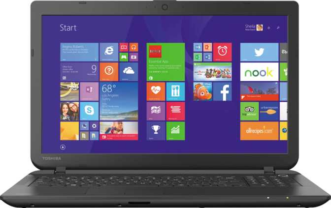 "Toshiba Satellite C55D 15.6"" AMD A6-6310 1.8GHz / 6GB / 750GB"
