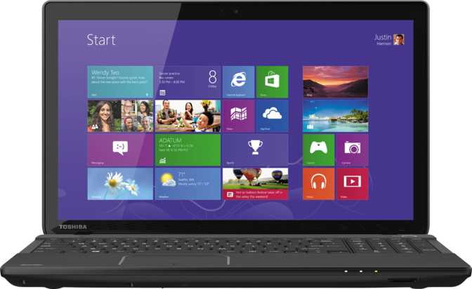 "Toshiba Satellite C55DT 15.6"" AMD A-Series A8-7410 2.2GHz / 6GB / 1TB"