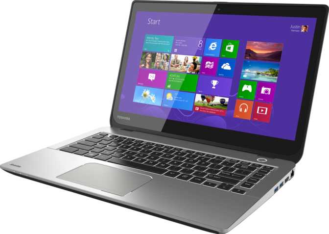 "Toshiba Satellite E45T 14"" Intel Core i5-4200U 1.6GHz / 6GB / 750GB"