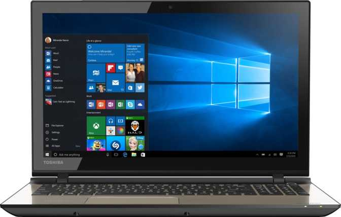 "Toshiba Satellite L55T 15.6"" Intel Core i7 6500U 2.5GHz / 8GB / 1TB"