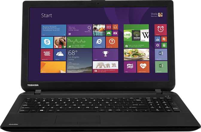 "Toshiba Satellite Pro C50 15.6"" Intel Celeron 1005M 1.9GHz / 4GB / 500GB"