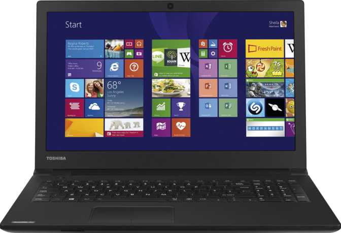 "Toshiba Satellite Pro R50 15.6"" Intel Core i5 4210U 1.7GHz / 4GB / 500GB"