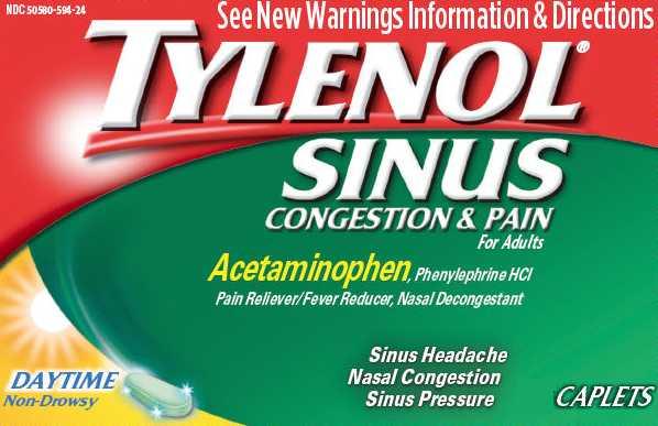 Tylenol Sinus Congestion & Pain