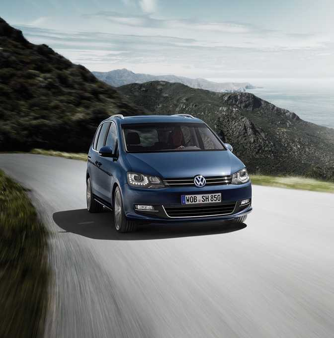 Volkswagen Sharan SEL 2.0 TSI