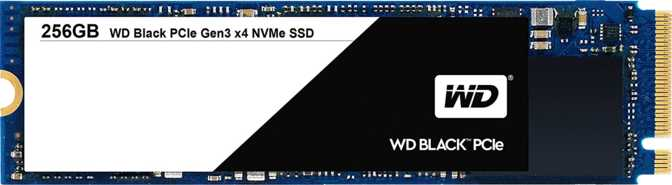Western Digital Black PCIe 256GB