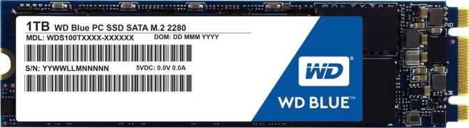 Western Digital Blue 1TB M.2 2280