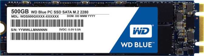 Western Digital Blue 500GB M.2 2280