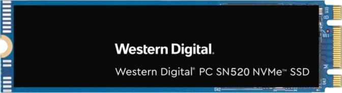 Western Digital PC SN520 M.2 2280 256GB