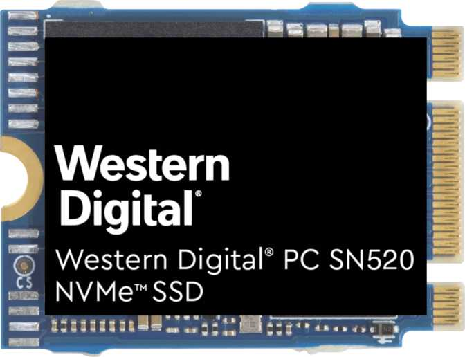 Western Digital PC SN520 512GB M.2 2230
