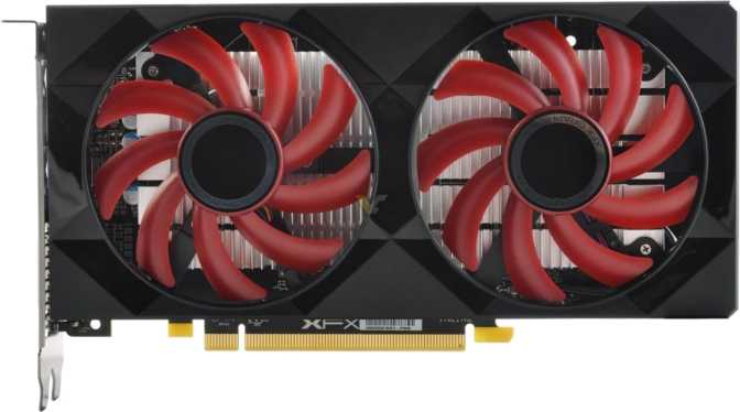 XFX Radeon RX 560 Double Dissipation OC 4GB