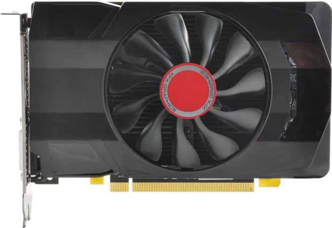 XFX Radeon RX 560 Single Fan OC 4GB
