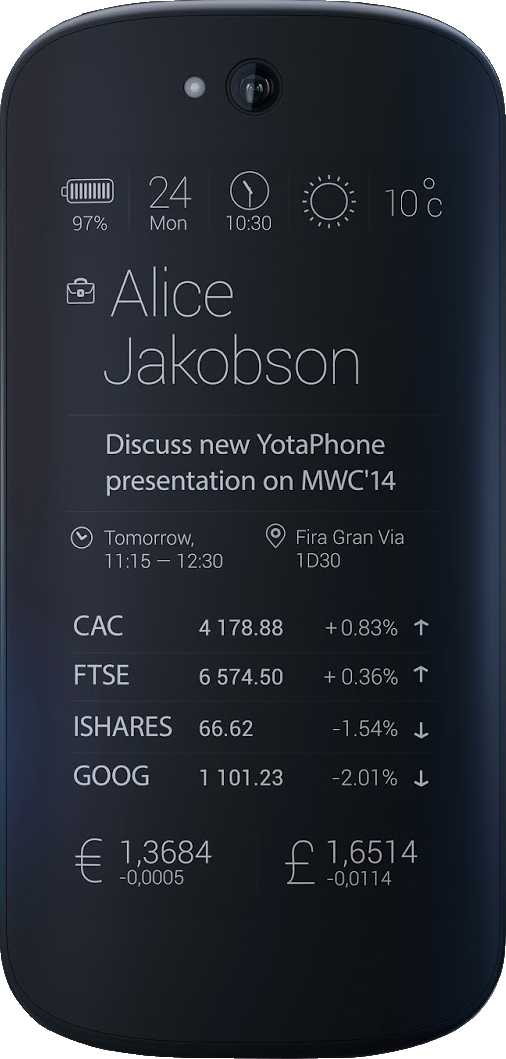YotaPhone 2014