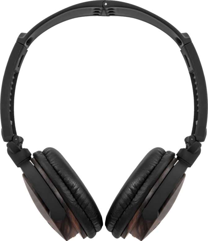 ZAGG Audio ZR-LE Wooden Over-Ear Headphones