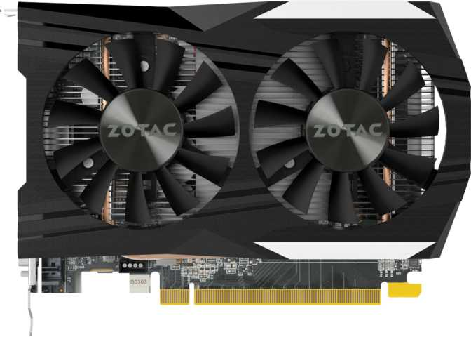 Zotac GeForce GTX 1050 Ti OC Edition