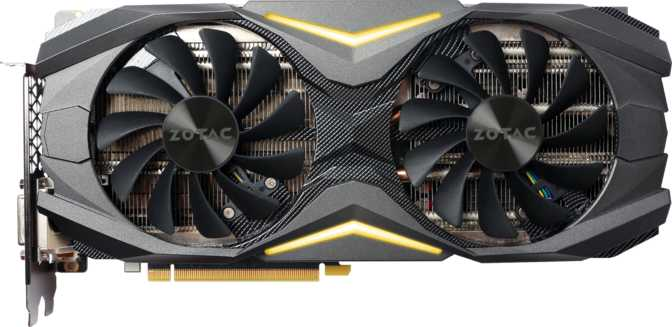 Zotac GeForce GTX 1080 AMP! Edition