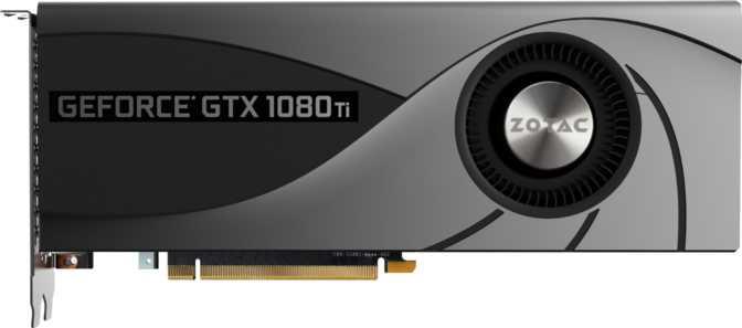 ZOTAC GTX 1080 Ti