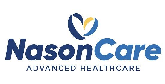 Nasoncarelanding logo at 25